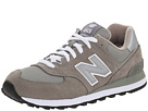 New Balance Classics W574 Gray, White Shoes