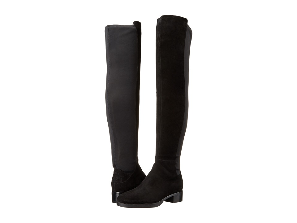 Tory Burch Caitlin Stretch Over-The-Knee Boot (Black) Women