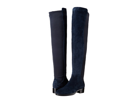 Tory Burch Caitlin Stretch Over-The-Knee Boot - Royal Navy