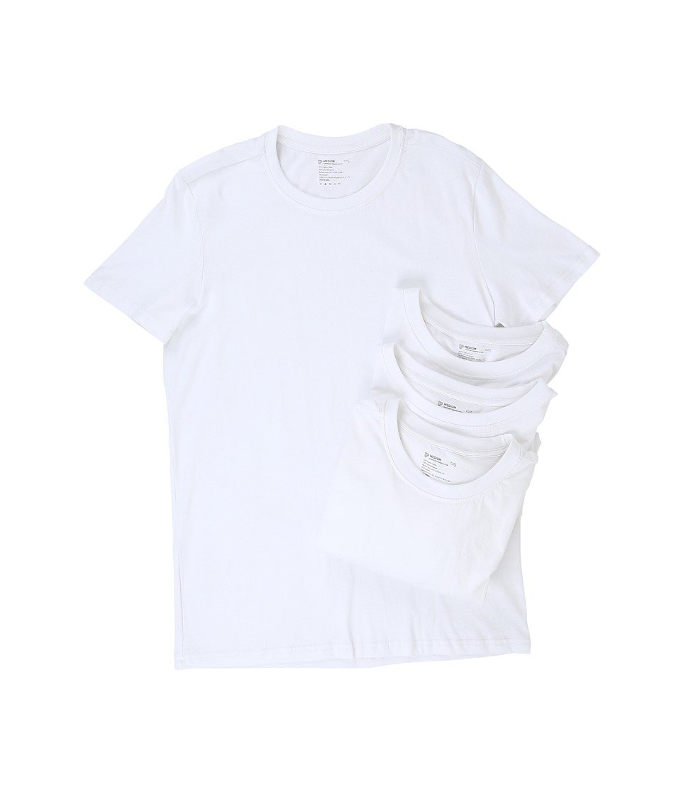 PACT PACT - Organic Cotton Undershirt 4-Pack