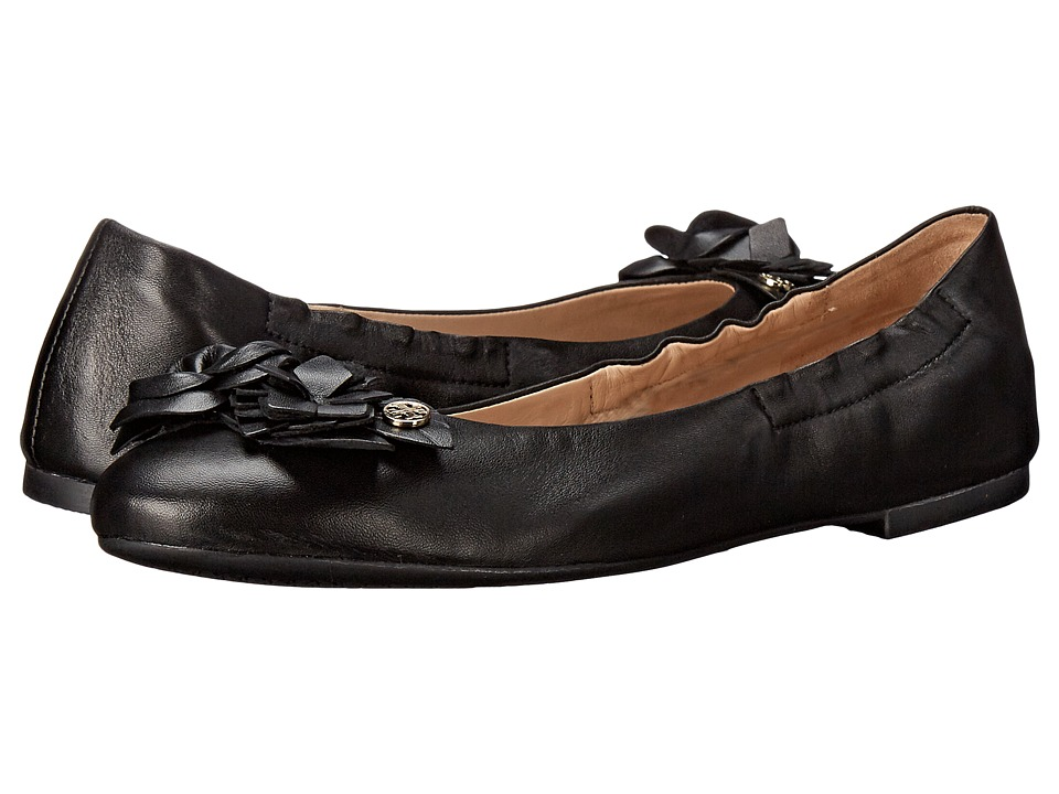 Tory Burch Blossom Ballet (Black) Women