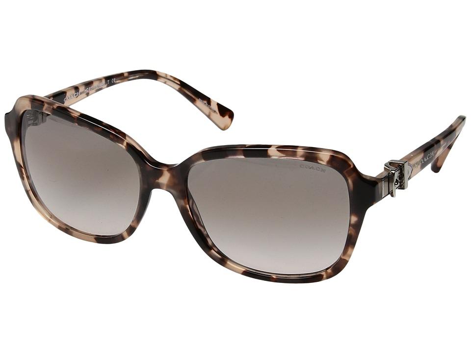 COACH - 0HC8179 (Peach Tortoise) Fashion Sunglasses