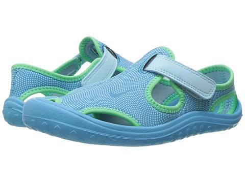 Nike Kids Sunray Protect (Little Kid) - Still Blue/Chlorine Blue/Electro Green
