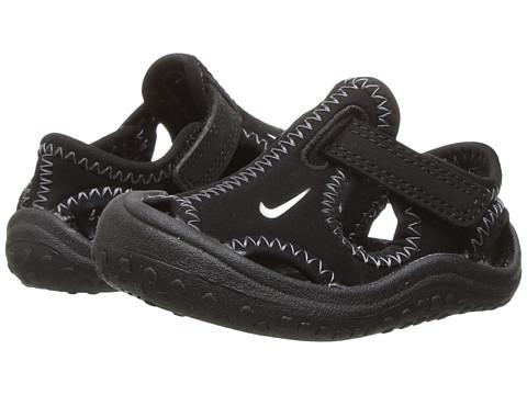 Nike Kids Sunray Protect (Infant/Toddler) - Black/White