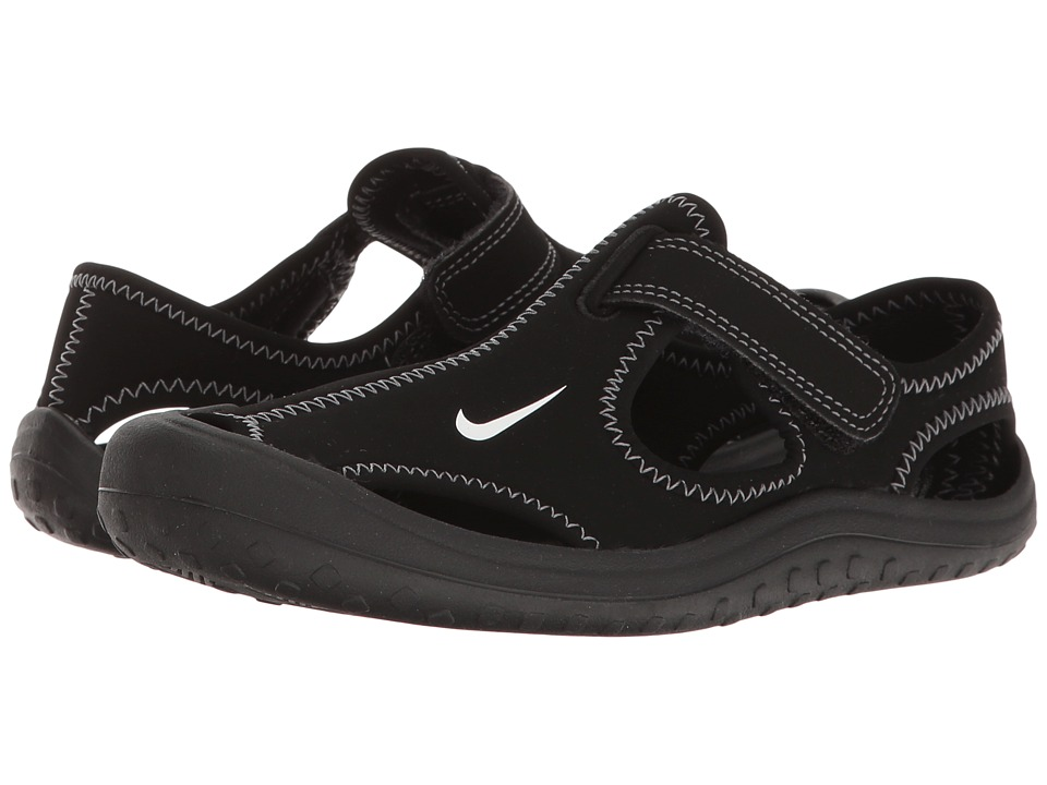 Nike Kids Sunray Protect (Little Kid) (Black/White) Boy's Shoes