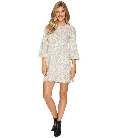 B Collection by Bobeau Nina Brushed Knit Dress - Grey Mix