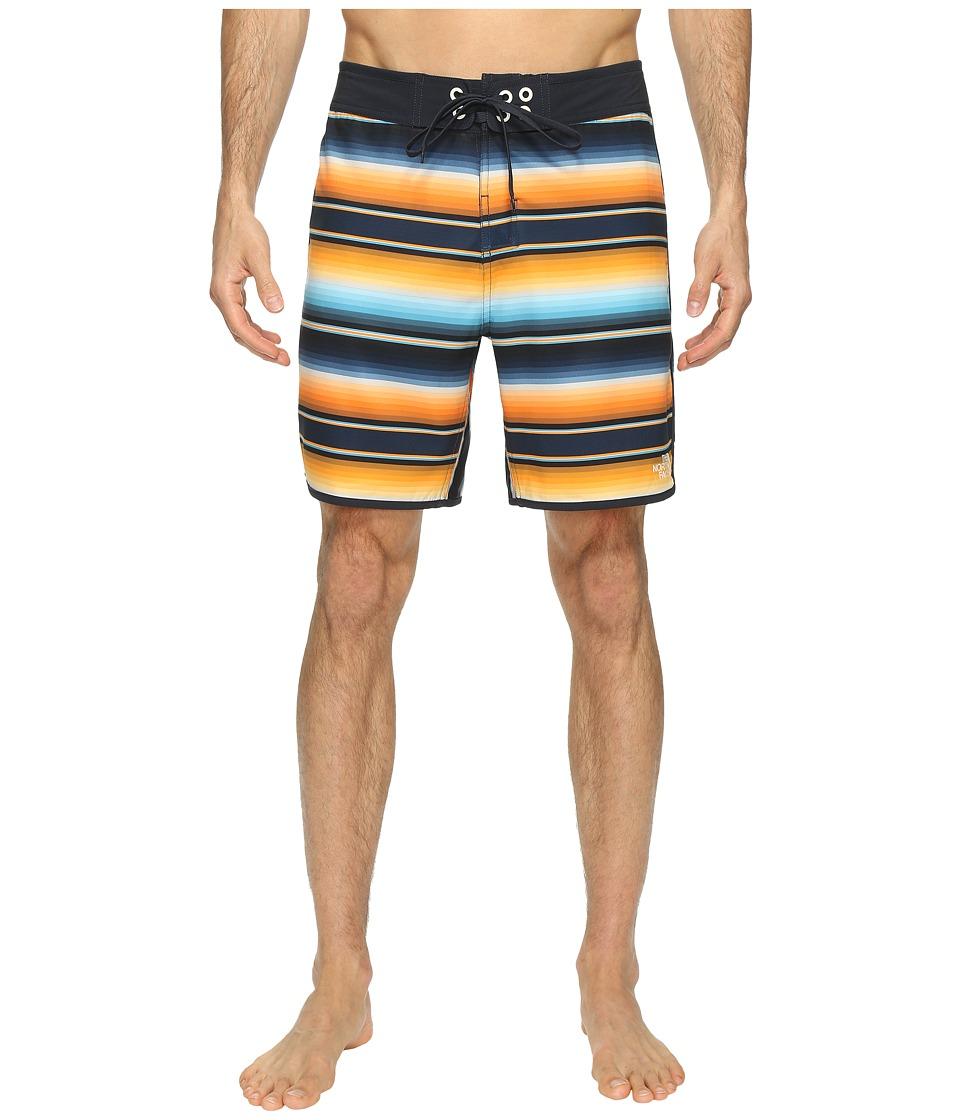 The North Face Whitecap Boardshorts Short (Exuberance Orange Serape Print) Men