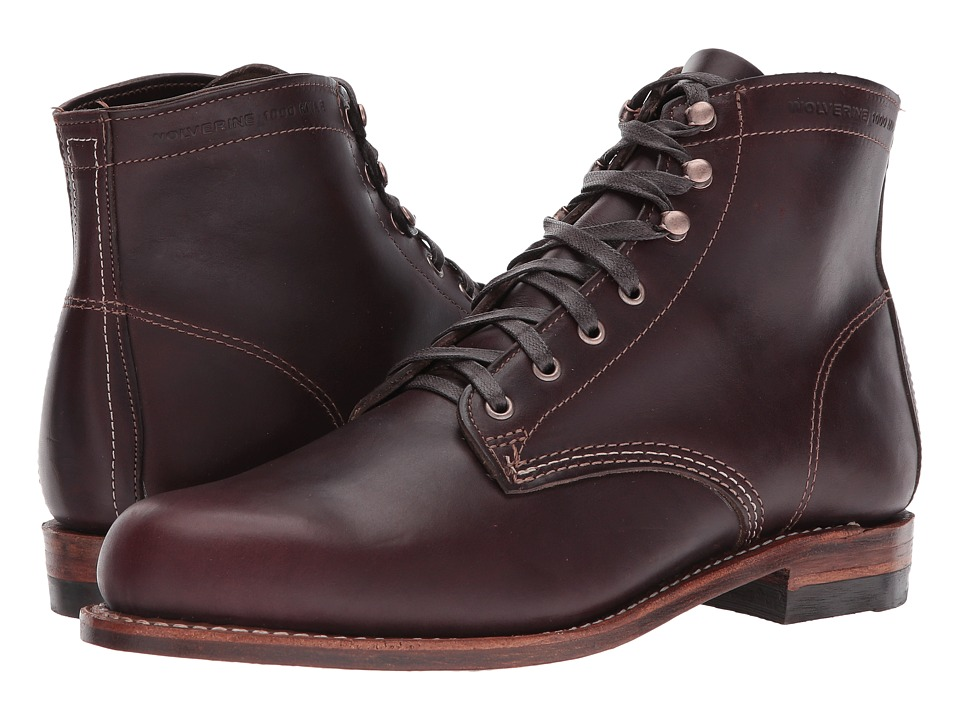 Wolverine Original 1000 Mile 6 Boot (Cordovan No. 8 Leather) Men