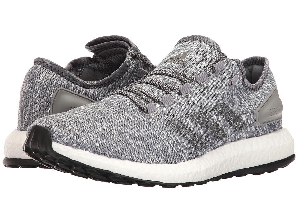 adidas Running PureBOOST (Grey/Solid Grey/Clear Grey) Men