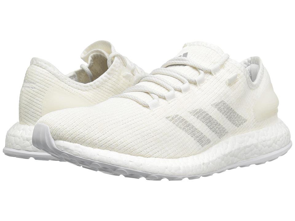 adidas Running PureBOOST (White/Clear Grey/White) Men