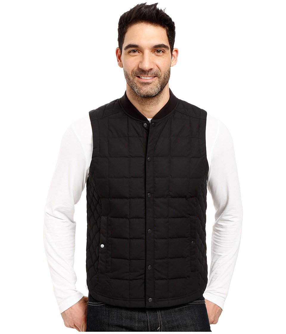 NAU Utility Down Vest (Caviar) Men