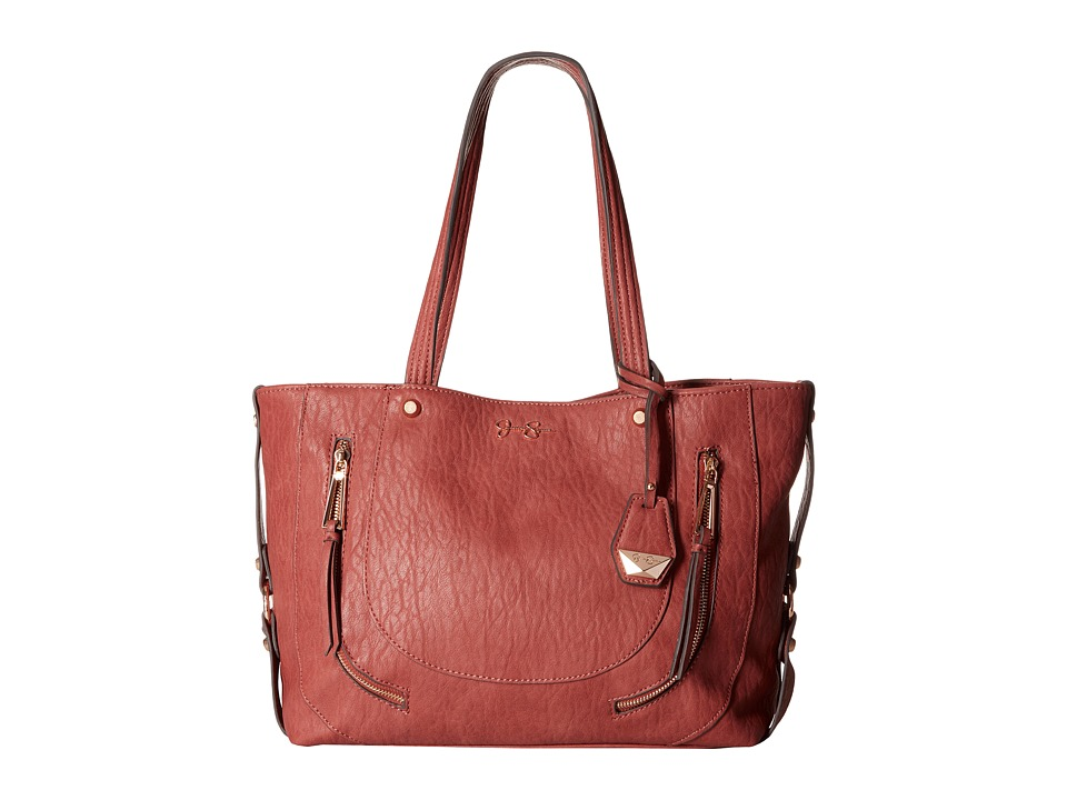 Jessica Simpson - Kendall Tote (Brandy) Tote Handbags