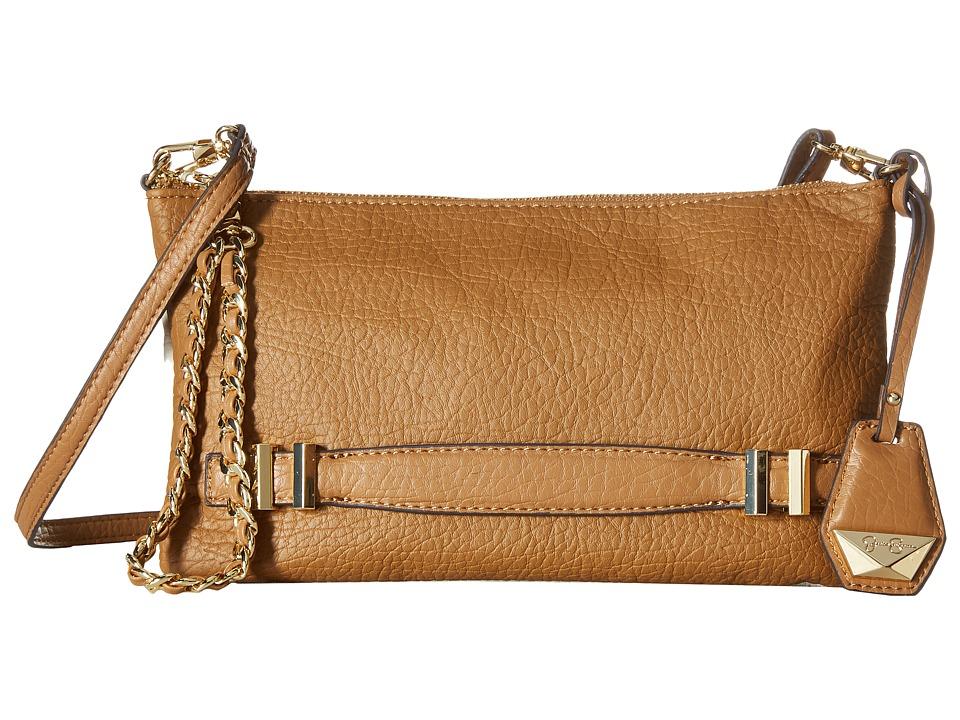 Jessica Simpson - Hanne Crossbody Clutch (Cognac/Putty) Clutch Handbags