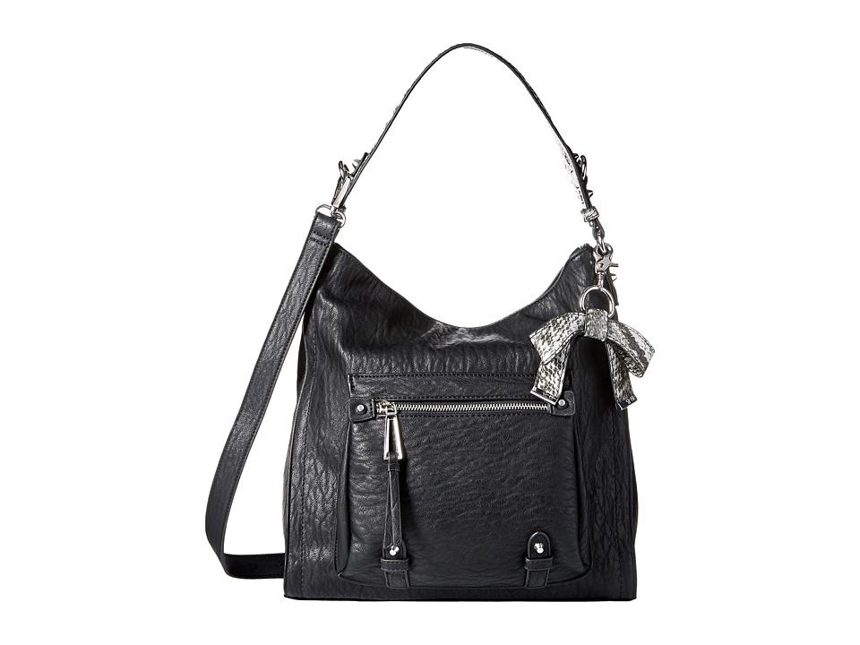 Jessica Simpson - Tatiana Hobo (Black/Grey Snake) Hobo Handbags