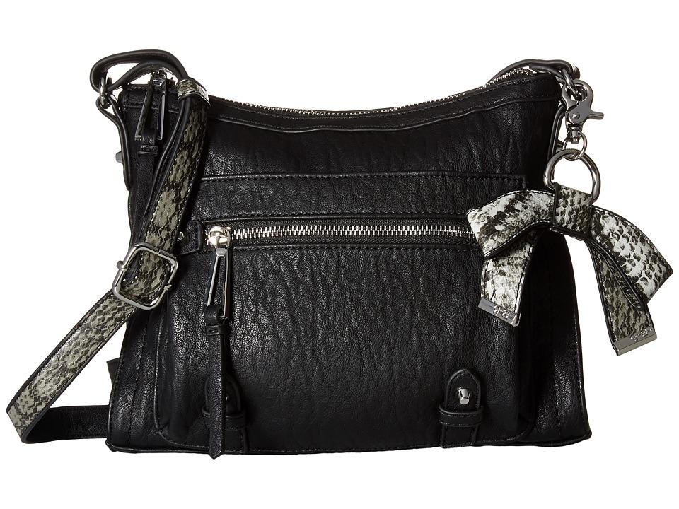 Jessica Simpson - Tatiana Crossbody (Black/Grey Snake) Cross Body Handbags