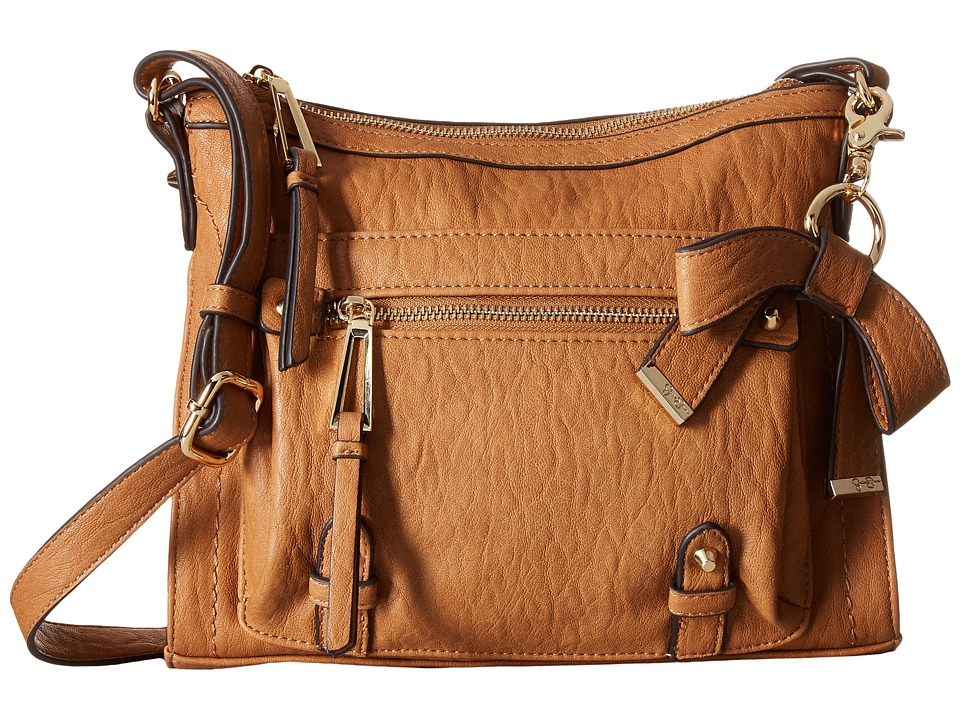 Jessica Simpson - Tatiana Crossbody (Cognac) Cross Body Handbags