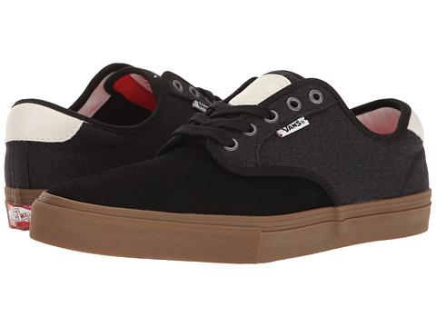 Vans Chima Ferguson Pro - (Covert Twill) Black/Gum