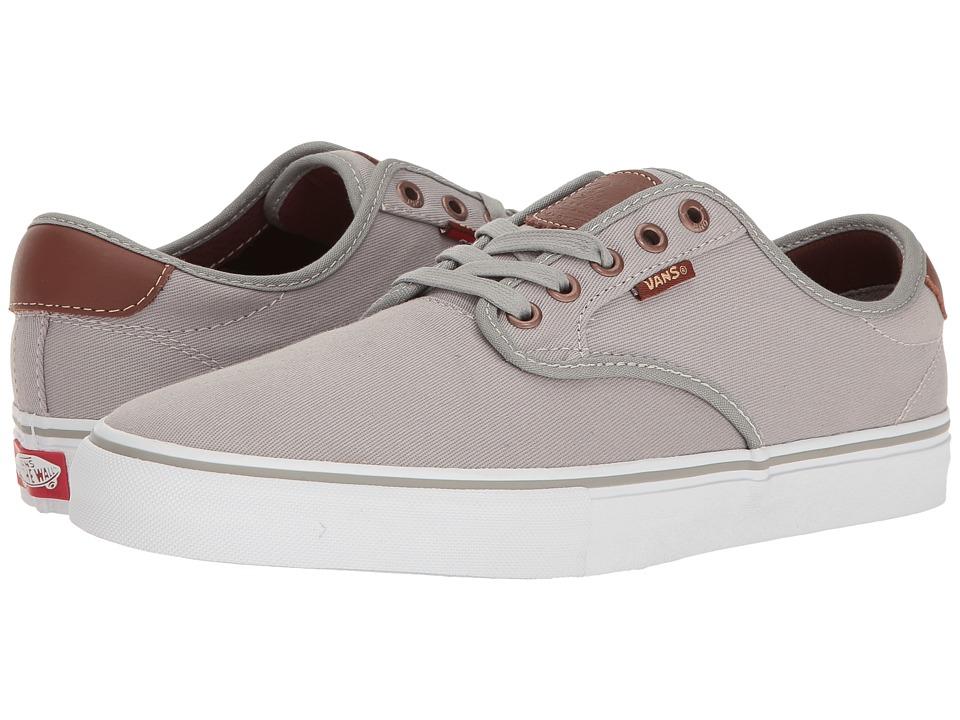 Vans - Chima Ferguson Pro ((Brushed Twill) Grey) Mens Skate Shoes