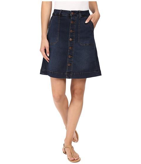 Jag Jeans Florence Skirt Republic Denim in Indigo Steel - Indigo Steel