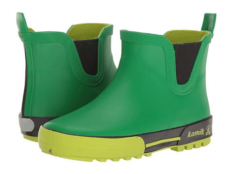Kamik Kids Rainplaylo (Little Kid) - Green