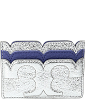 Tory Burch - Scallop-T Metallic Card Case
