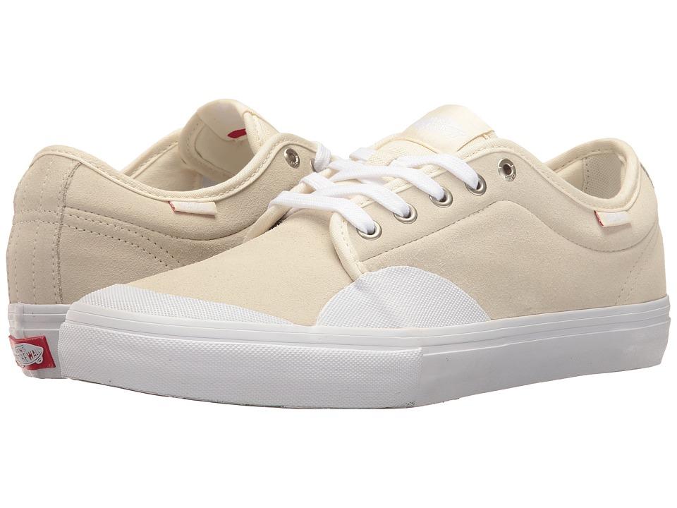 Vans Chukka Low Pro ((Rubber) White/White) Men