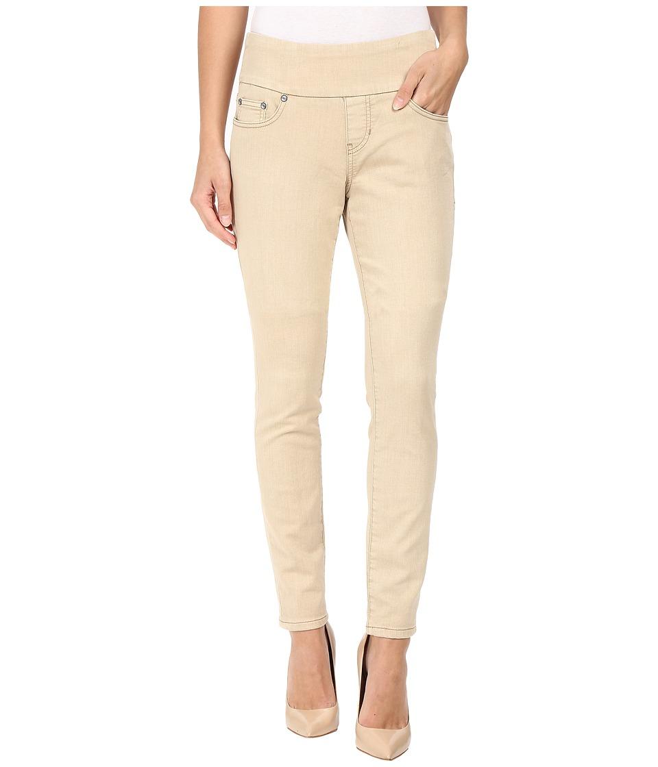 Jag Jeans Nora Pull-On Skinny Freedom Colored Knit Denim in Desert (Desert) Women