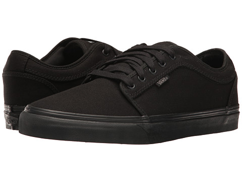 vans chukka low black
