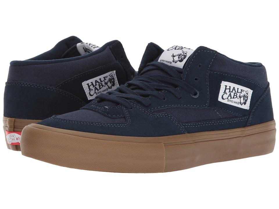 Vans - Half Cab Pro (Navy/Gum) Mens Skate Shoes