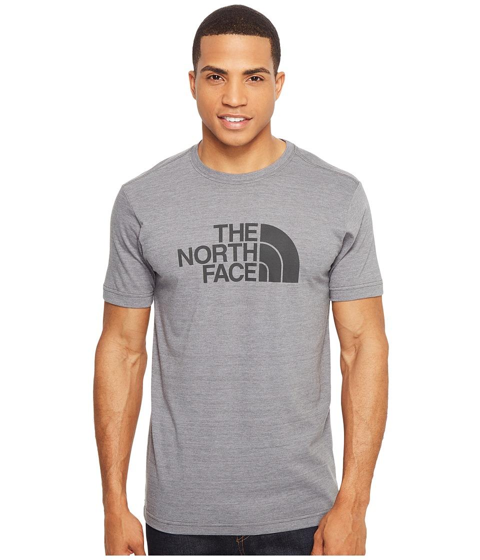 The North Face Short Sleeve Tri-Blend Tee (TNF Medium Grey Heather/Asphalt Grey (Prior Season)) Men