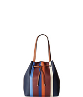 Tory Burch - Kerrington Stripe Drawstring Tote