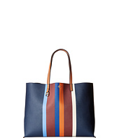 Tory Burch - Kerrington Stripe Square Tote