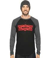 The North Face - Long Sleeve 66 Diamonds Raglan Tee
