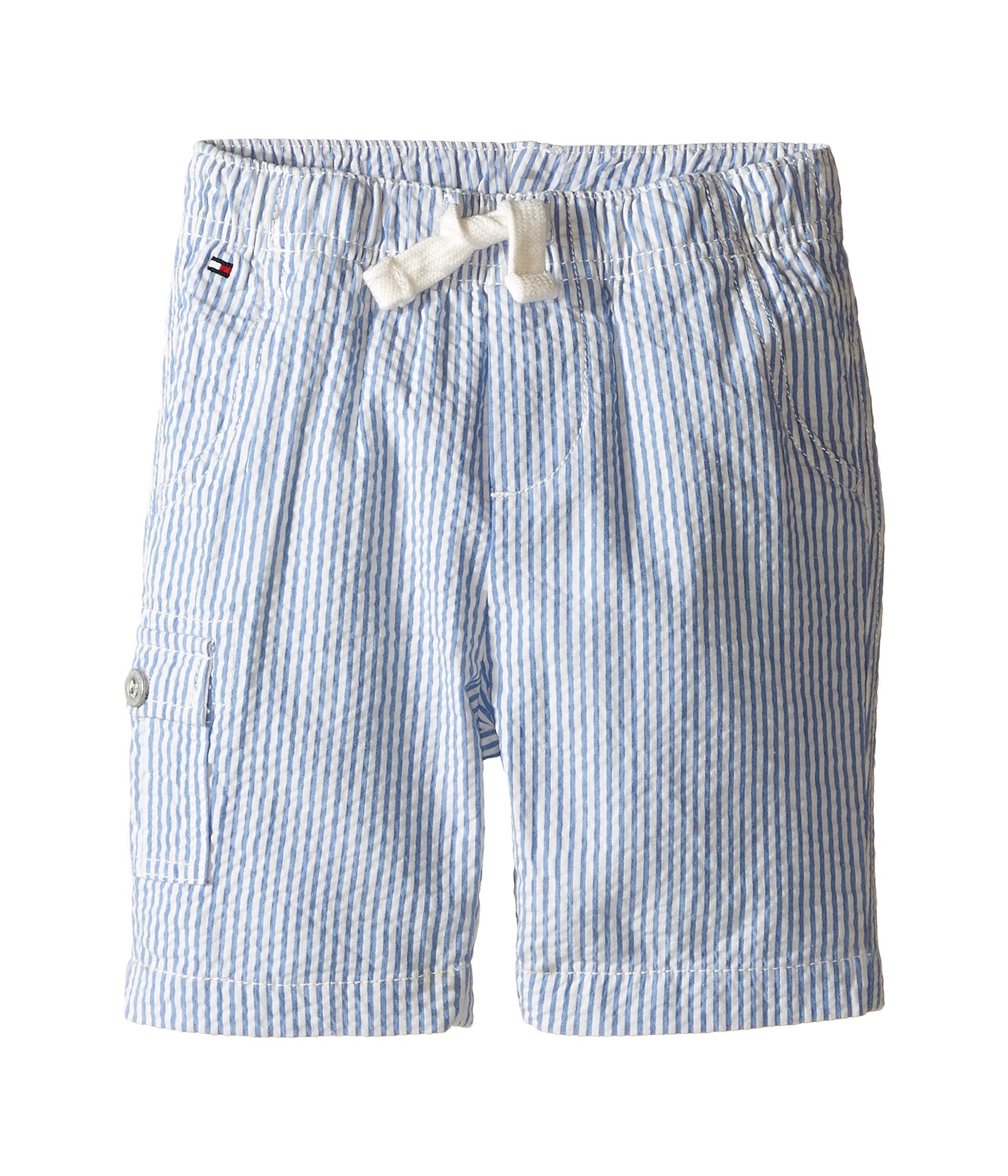 tommy hilfiger kids tom seersucker pull on shorts infant free shipping both ways. Black Bedroom Furniture Sets. Home Design Ideas