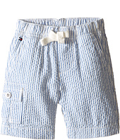 Tommy Hilfiger Kids - Tom Seersucker Pull-On Shorts (Infant)