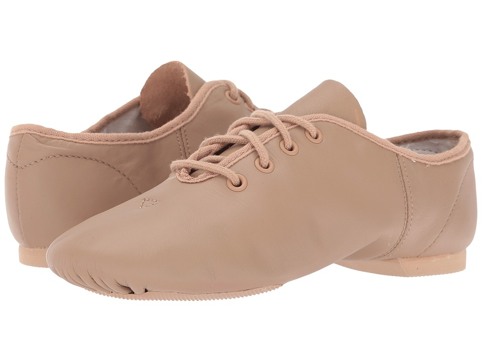 Capezio Jazz Oxford (Caramel) Dance Shoes