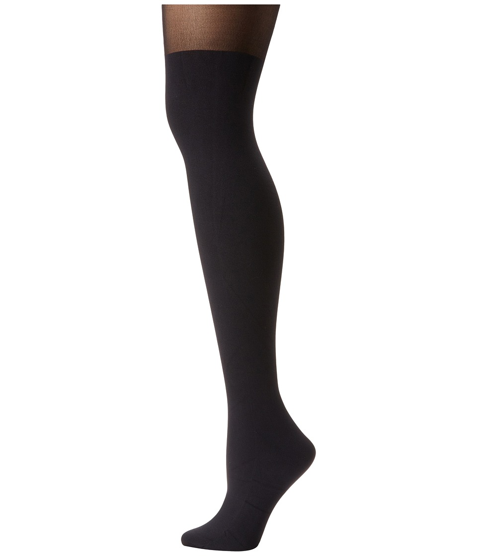 Pretty Polly - Suspender Tights (Black) Hose
