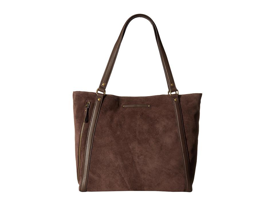 UGG - Jenna Tote (Chocolate) Handbags