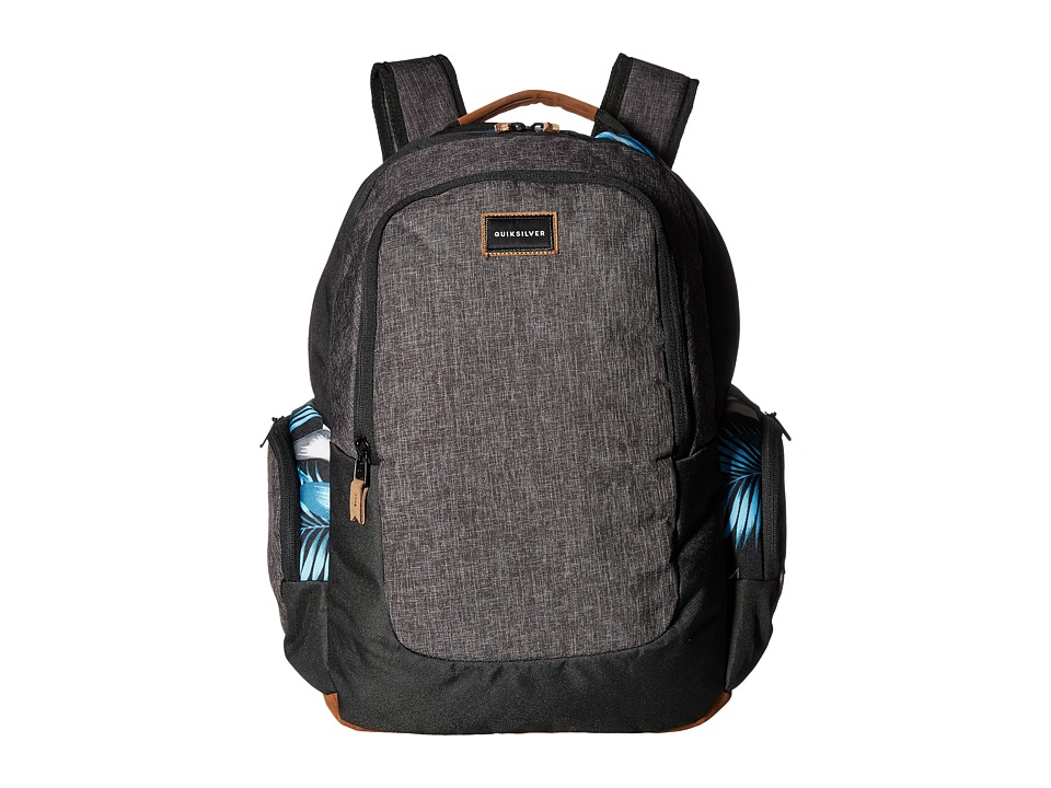 Quiksilver Schoolie (Bonnie Blue Classic Flower) Backpack Bags