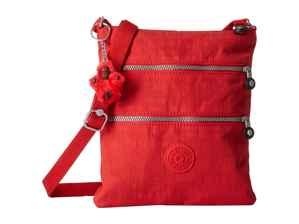 Kipling - Keiko Crossbody (Tomato Red) Cross Body Handbags