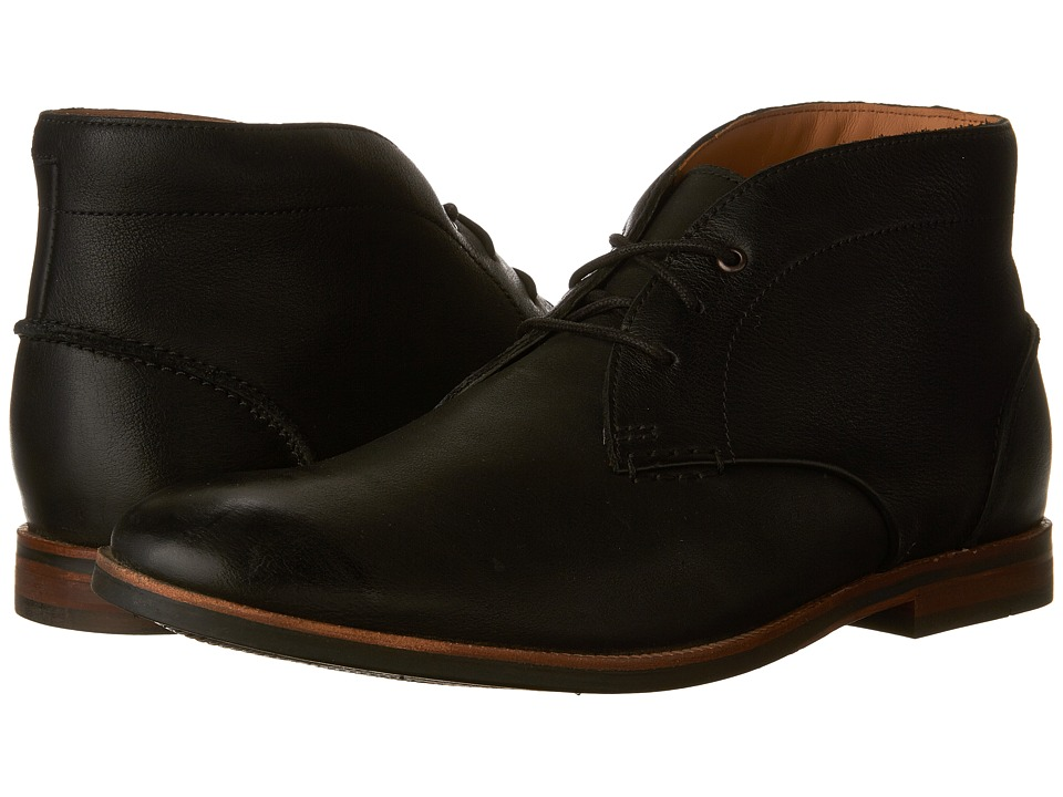 Clarks Broyd Mid (Black Leather) Men