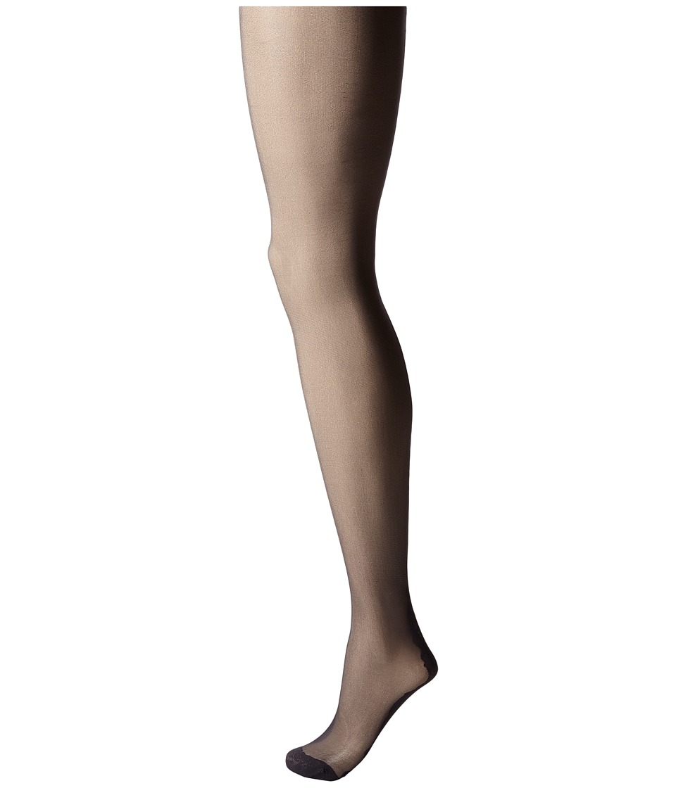 Pretty Polly - Flirty Backseam Tights (Black/Black) Hose