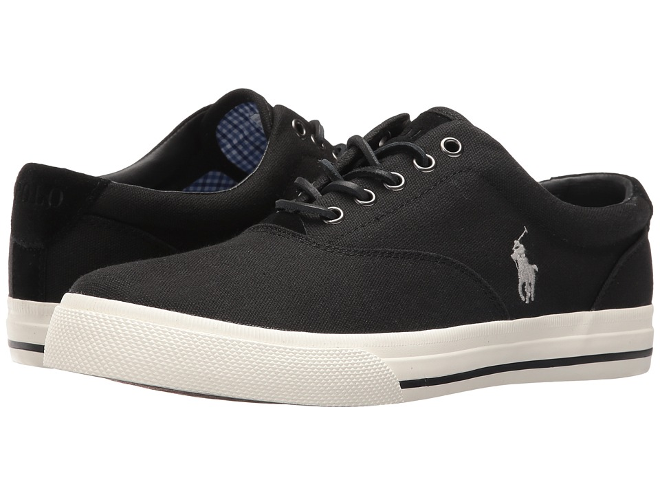 Ralph Lauren Vaughn (Polo Black) Men's Shoes