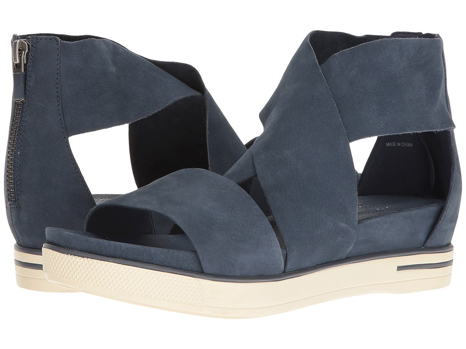 Eileen Fisher Sport (Denim Tumbled Nubuck) Sandals