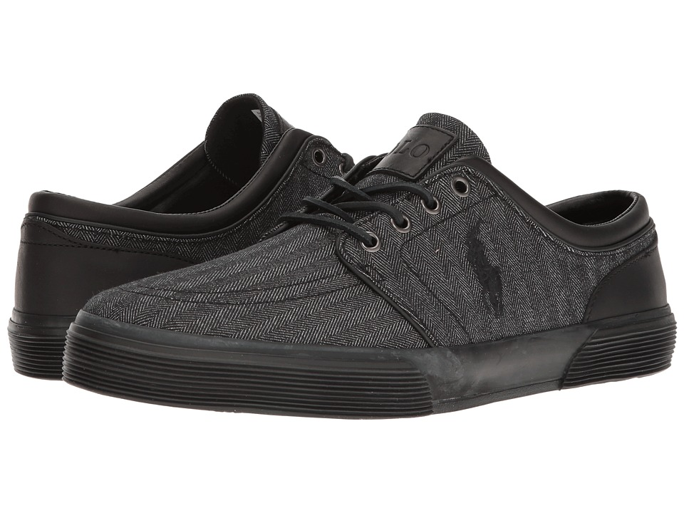 Polo Ralph Lauren Faxon Low (Black/Black) Men