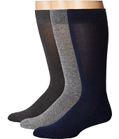 HUE - Marled Sock with Half Cushion 3-Pack