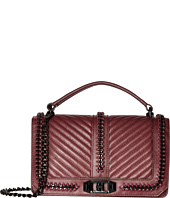 Rebecca Minkoff - Love Crossbody with Chain and Top-Handle