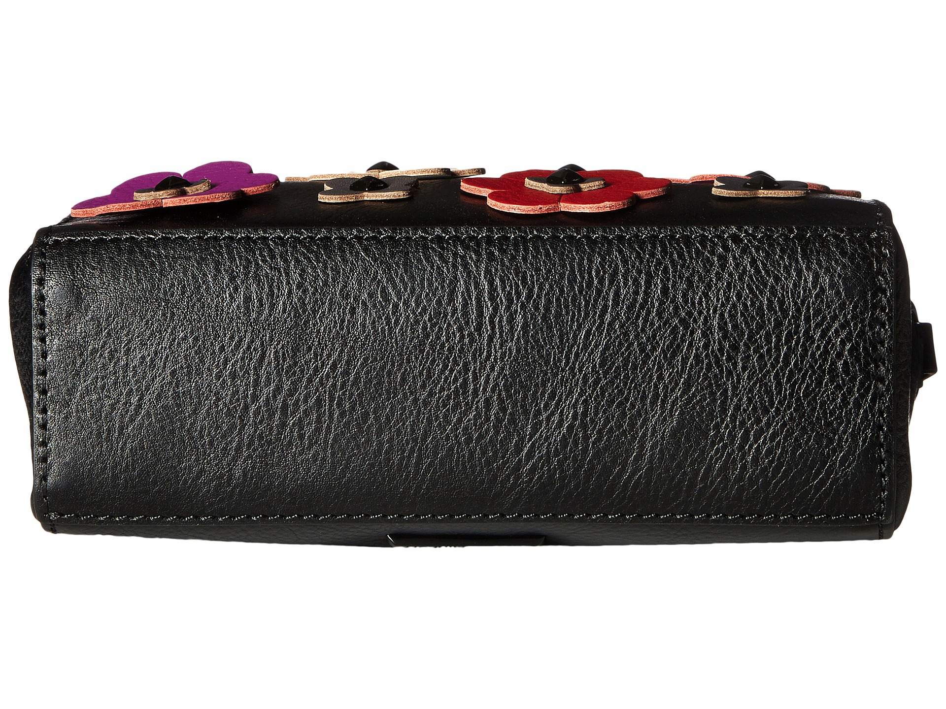 Rebecca Minkoff Floral Applique Camera Bag Black Multi - Zappos.com Free Shipping BOTH Ways