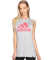 adidas - Badge Of Sport Brushstroke Muscle Tank Top
