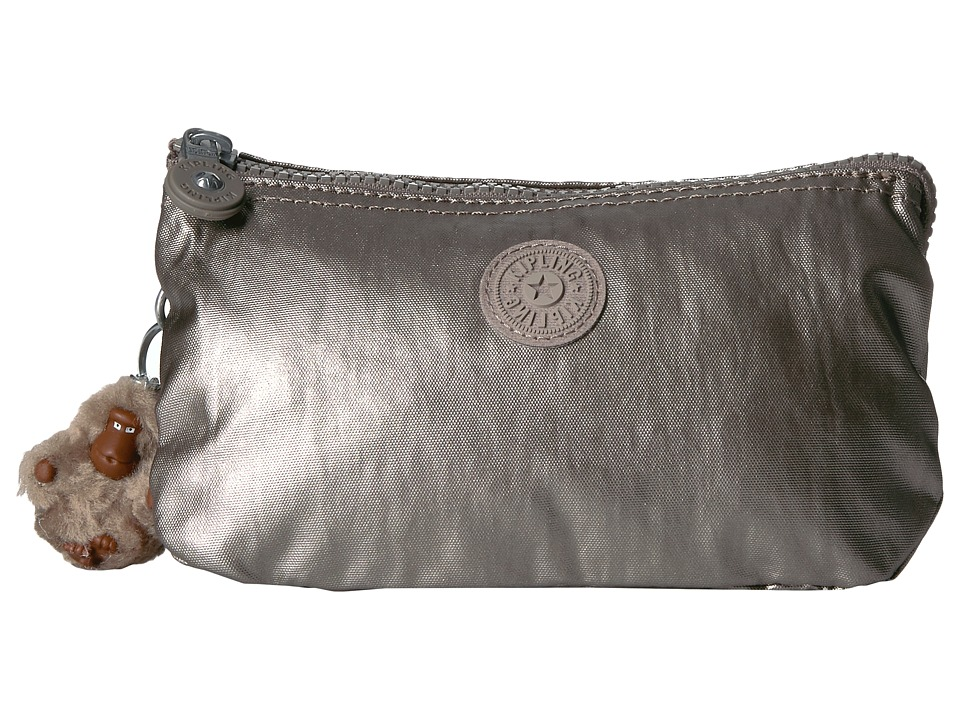 Kipling - Creativity Large (Metallic Pewter) Bags